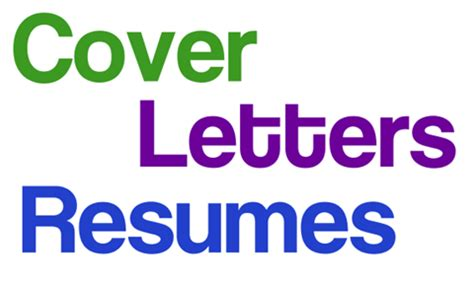 Cover Letter Template Career Services